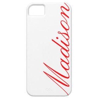 Madison - caso hermoso del iPhone 5 iPhone 5 Carcasas