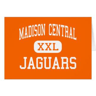 Madison Central - Jaguars - High - Madison Greeting Card