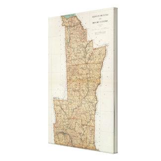 Madison, Chenango, Broome counties Canvas Print