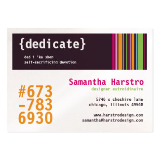 Madison Chubby Business Cards