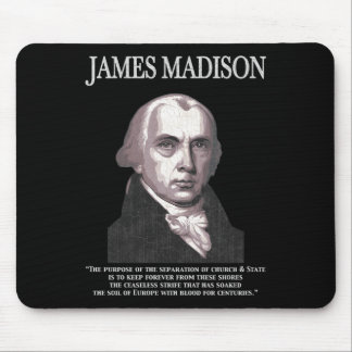 Madison - Church & State Mouse Pads