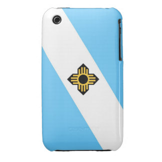 Madison city flag  Wisconsin state America country iPhone 3 Covers