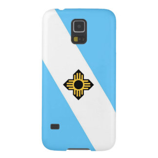 Madison city flag  Wisconsin state America country Galaxy S5 Cover