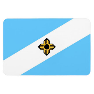 Madison city flag  Wisconsin state America country Magnet