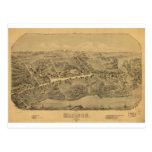 Madison Connecticut en 1881 Tarjeta Postal