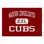 Madison consolidó - Cubs - el alto - Madison Tarjeta