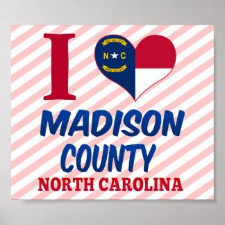 Madison County, North Carolina Print