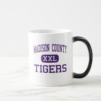 Madison County - Tigers - High - Gurley Alabama 11 Oz Magic Heat Color-Changing Coffee Mug