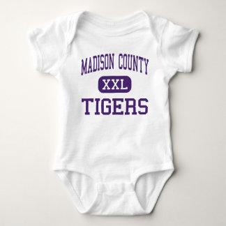 Madison County - Tigers - High - Gurley Alabama Baby Bodysuit