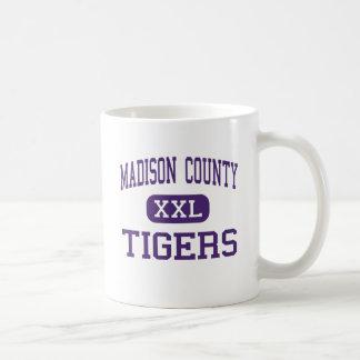 Madison County - Tigers - High - Gurley Alabama Classic White Coffee Mug