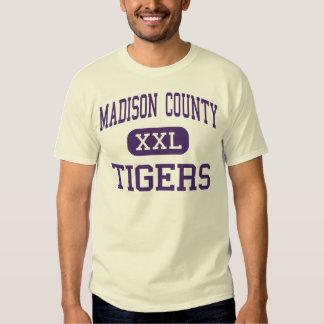 Madison County - Tigers - High - Gurley Alabama T-shirt