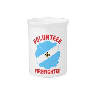 Madison, cruz del bombero del voluntario de la jarra