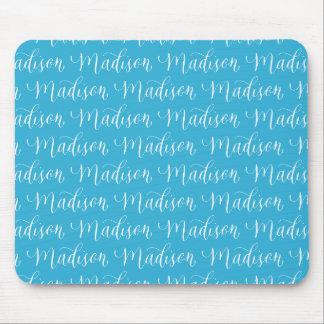 Madison - diseño moderno del nombre de la alfombrillas de ratón