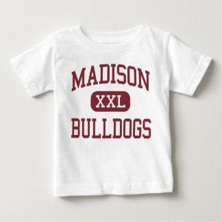 Madison - dogos - alta - Madison Dakota del Sur Playera De Bebé