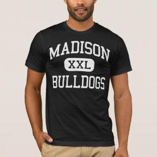 Madison - dogos - centro - Madison Dakota del Sur Playera