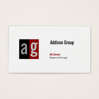 Madison Dual ii Business Card