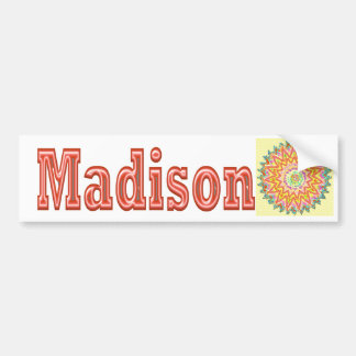 MADISON - Elegant gifts to n from Madison Car Bumper Sticker