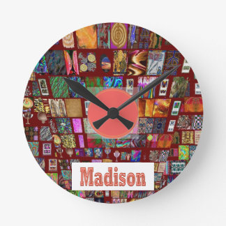 MADISON - Elegant gifts to n from Madison Round Wall Clock