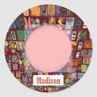 MADISON - Elegant gifts to n from Madison Classic Round Sticker