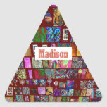 MADISON - Elegant gifts to n from Madison Triangle Sticker
