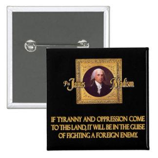 Madison en enemigos extranjeros pin