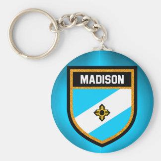 Madison Flag Keychain
