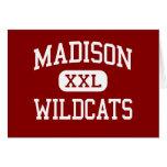 Madison - gatos monteses - centro - Madison la Flo Tarjetón