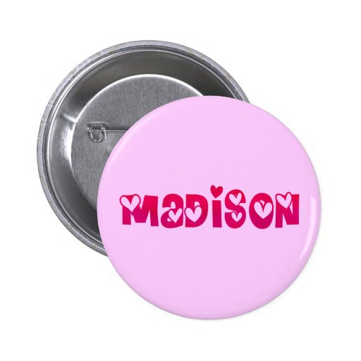 Madison in Hearts Pin