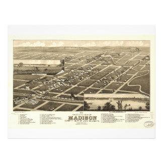 Madison Lake County South Dakota (1883) Letterhead