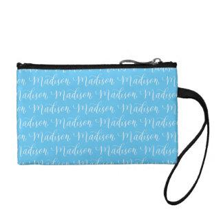 Madison - Modern Calligraphy Name Design Coin Wallet