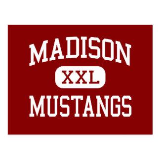 Madison - mustangos - escuela secundaria - Miami l Postales