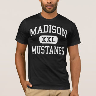 Madison - mustangos - escuela secundaria - Miami Playera