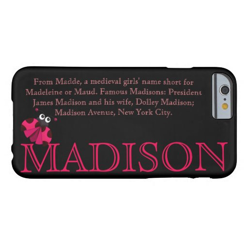 madison meaning name