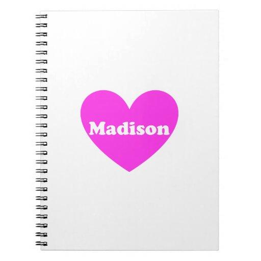 Madison Notebooks