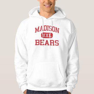 Madison - osos - joven - Madison Indiana Sudadera Con Capucha