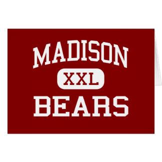 Madison - osos - joven - Madison Indiana Tarjeta De Felicitación