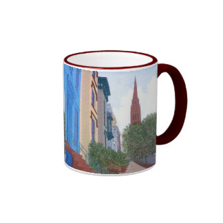 Madison  Place Ringer Mug