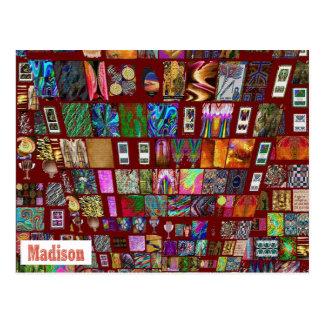 MADISON - regalos elegantes a n de Madison Tarjeta Postal
