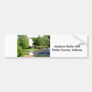 Madison Roller Mill Bumper Sticker