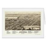 Madison, SD Panoramic Map - 1883 Card