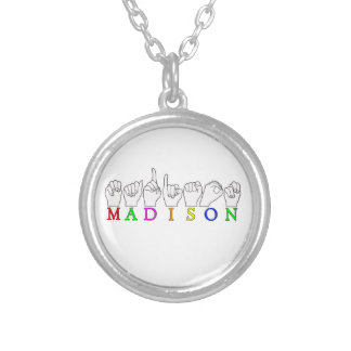 MADISON SILVER PLATED NECKLACE