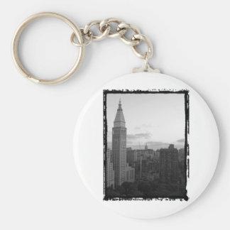 Madison Square Park Photo Basic Round Button Keychain