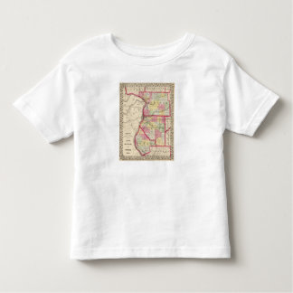 Madison, St Clair, Monroe counties T-shirt
