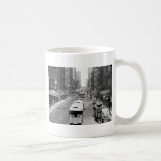 Madison Street, Chicago, 1900 Coffee Mug
