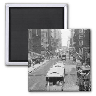 Madison Street, Chicago, 1900 Magnet