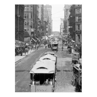 Madison Street, Chicago, 1900 Postcards