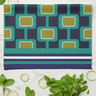 Madison Stripe Navy Kitchen Towel
