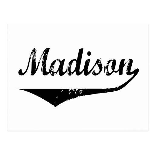 Madison Tarjeta Postal