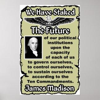 Madison: Ten Commandments Poster