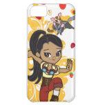 Madison the Steampunk Cartoon Girl & Sugar Gliders iPhone 5C Cases